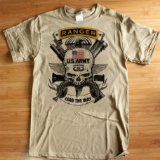 Army Ranger Combat Action T-Shirt