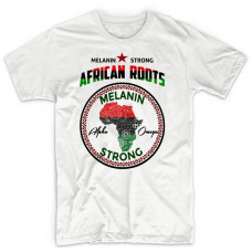Traditional African Patterned Map Tee