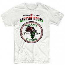 Melanin Strong African Roots Ankh Tee