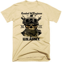 Army Combat Engineer Tee