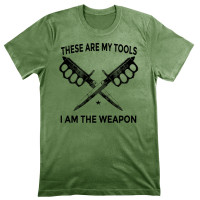 Tactical Knuckle Knife Tee