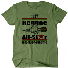 Reggae Allstar Mike Drop Tee